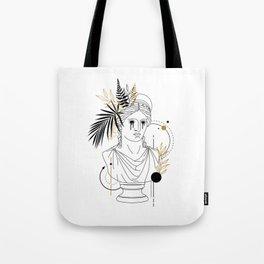 Hera (Juno). Creative Illustration In Geometric And Line Art Style Tote Bag
