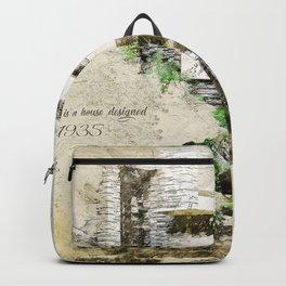 Fallingwater Landscape Backpack
