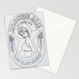 Blonde Ale Padre Island Brewery 2 Stationery Cards