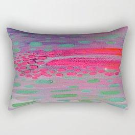 Abstract Rainfall Rectangular Pillow