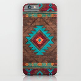 Bohemian Traditional Southwest Style Design iPhone Case