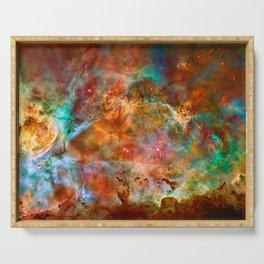 Carina Nebula Space Beauty Serving Tray