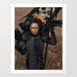 The Black Company: Croaker Art Print
