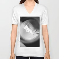 aperture V-neck T-shirts featuring Aperture Lashes by Aperture