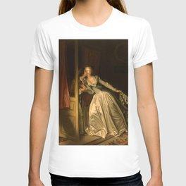 """Jean-Honoré Fragonard """"The Stolen Kiss"""" T-shirt"""