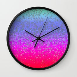 Glitter Star Dust G244 Wall Clock