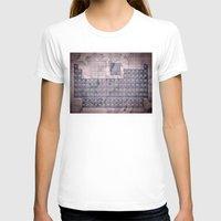 periodic table T-shirts featuring periodic table of elements by Bekim ART