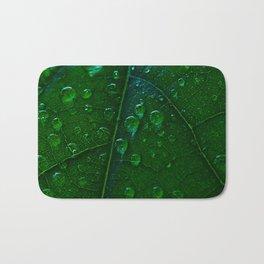 Green Bubbles Bath Mat