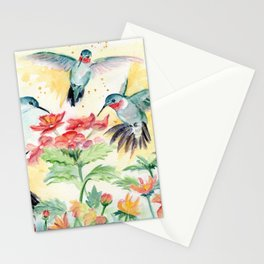 Hummingbird Party Stationery Cards