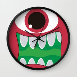 It's a Pink Mosnter! Wall Clock