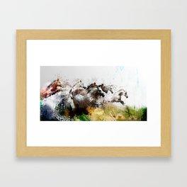 Cavalcade Framed Art Print