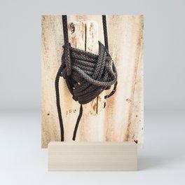 Rope Tied Up Mini Art Print