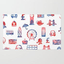 London Theme Rug