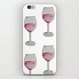 Wine Watercolor. iPhone Skin