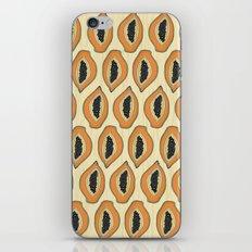 Papayas iPhone & iPod Skin
