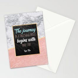 One step Stationery Cards