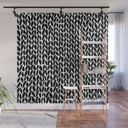 Hand Knit Zoom Wall Mural