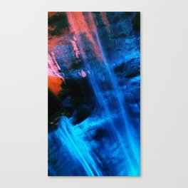 Blue Joy Canvas Print