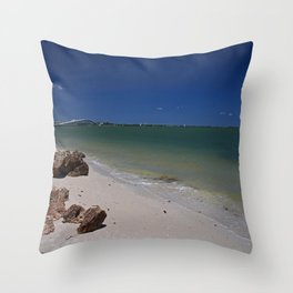 Exalted in the Sea Throw Pillow
