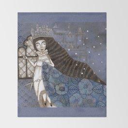 Schneewittchen-The Queen's Wish Throw Blanket