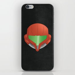 Samus Helmet - Super Metroid iPhone Skin