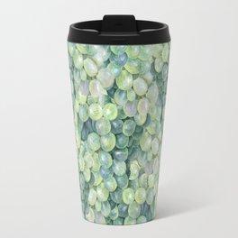 Green Grape Pattern Travel Mug
