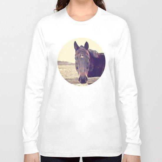 Hello Horse  Long Sleeve T-shirt