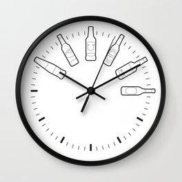 Alcoholism Wall Clock