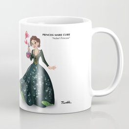 Princess Marie Curie (Trumble Cartoon) Coffee Mug