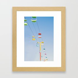 Sky Ride Framed Art Print
