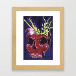 Tiki Zombie Punch Framed Art Print