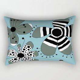 FLOWERY GRETA  / ORIGINAL DANISH DESIGN bykazandholly Rectangular Pillow