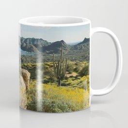 Arizona Spring Mountain Bloom Coffee Mug
