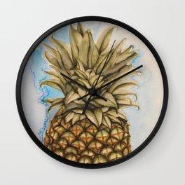 Pineapple! Wall Clock