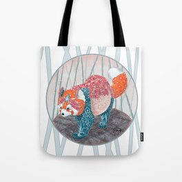 """ Red Panda "" by Teresa Ball ( TBall ) Tote Bag"