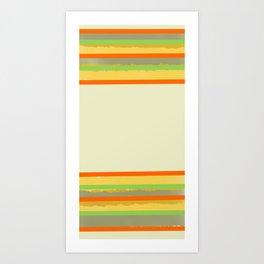 BARRE VERDI Art Print