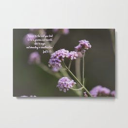 March 1 - Joel 2:13 Metal Print