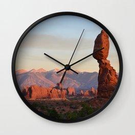 Balanced Rock Utah Wall Clock