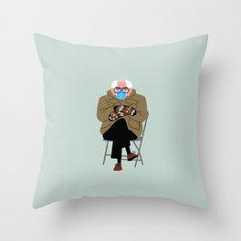 Bernie's Mittens Throw Pillow