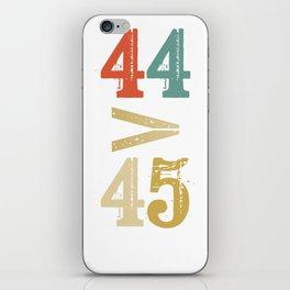 44 > 45 Anti Trump Impeach iPhone Skin