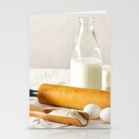 cooking Stationery Cards featuring Vintage Cooking by diane555