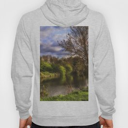 The River Kennet At Burghfield Hoody