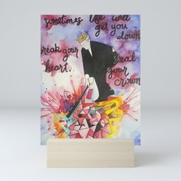 Steal Your Crown Mini Art Print