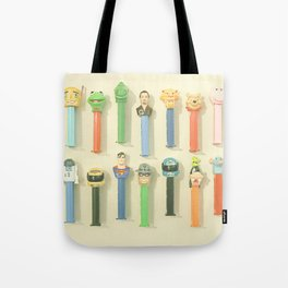 Candy Dispensers Tote Bag
