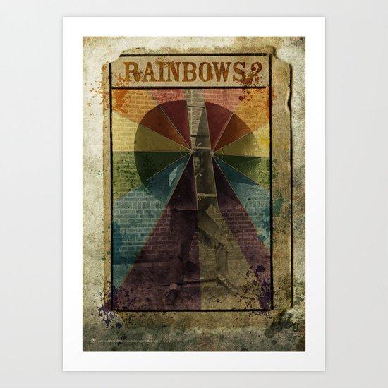 Rainbows ? Art Print
