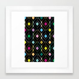 Double Helix Framed Art Print