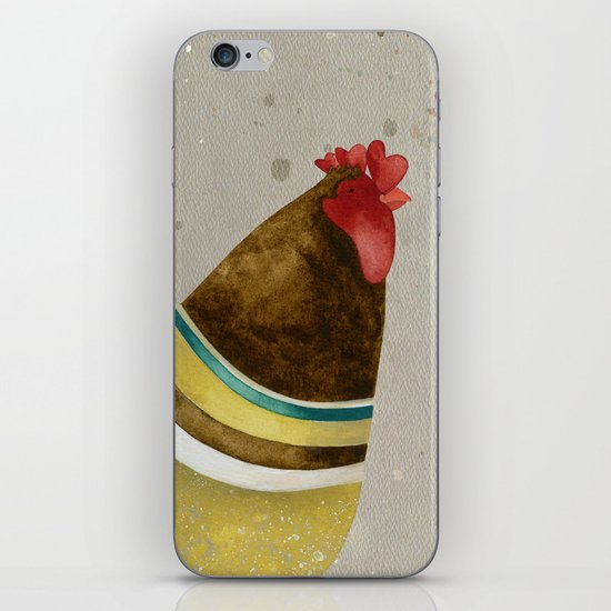 Rooster Willow iPhone & iPod Skin