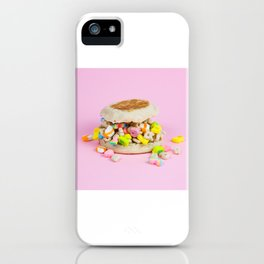 Breakfast Sandwich iPhone Case