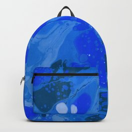 Science, Abstract, Blue Intense Backpack