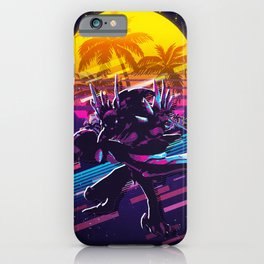 Kha'Zix league of legends game 80s palm vintage iPhone Case